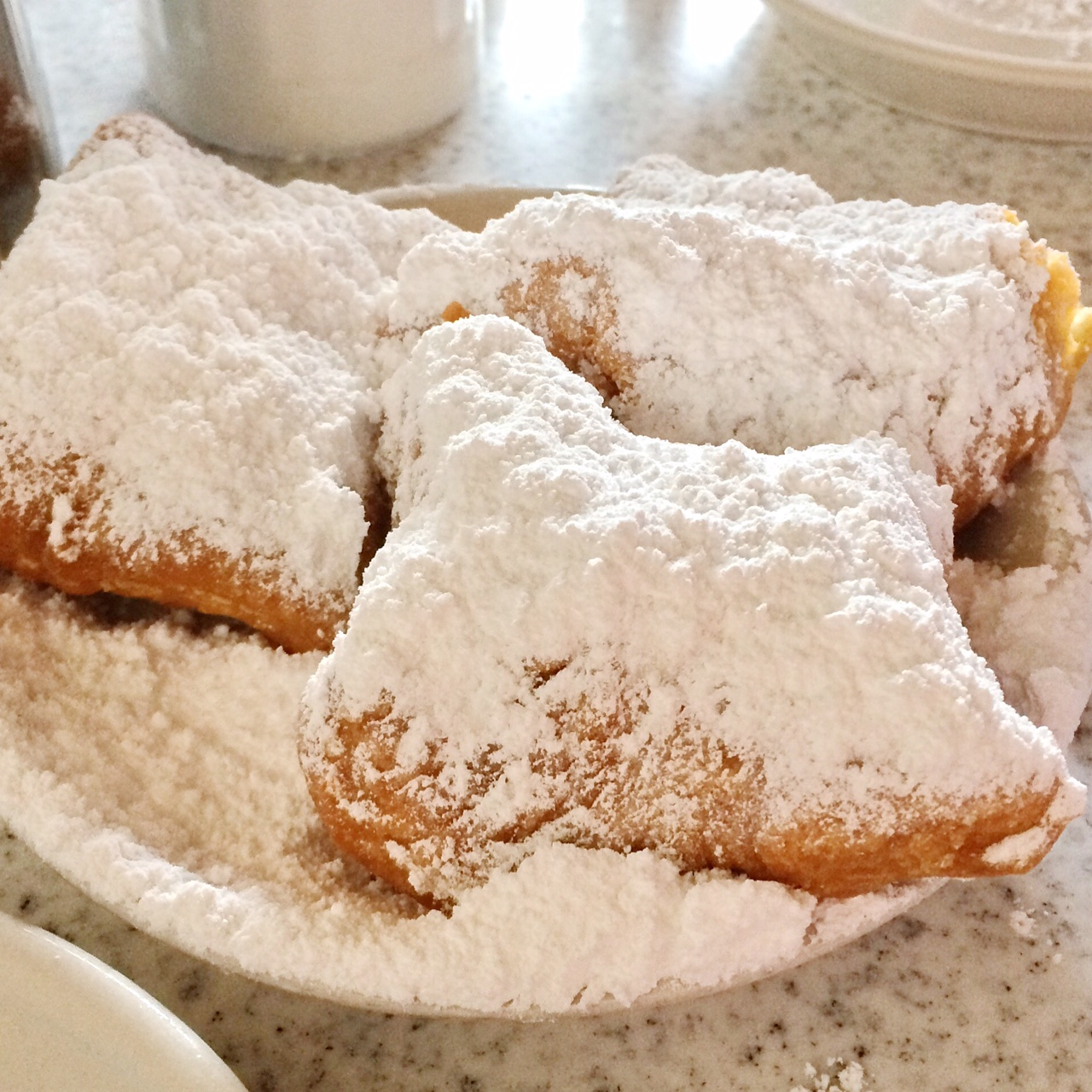 New Orleans Cafe DuMonde Beignets