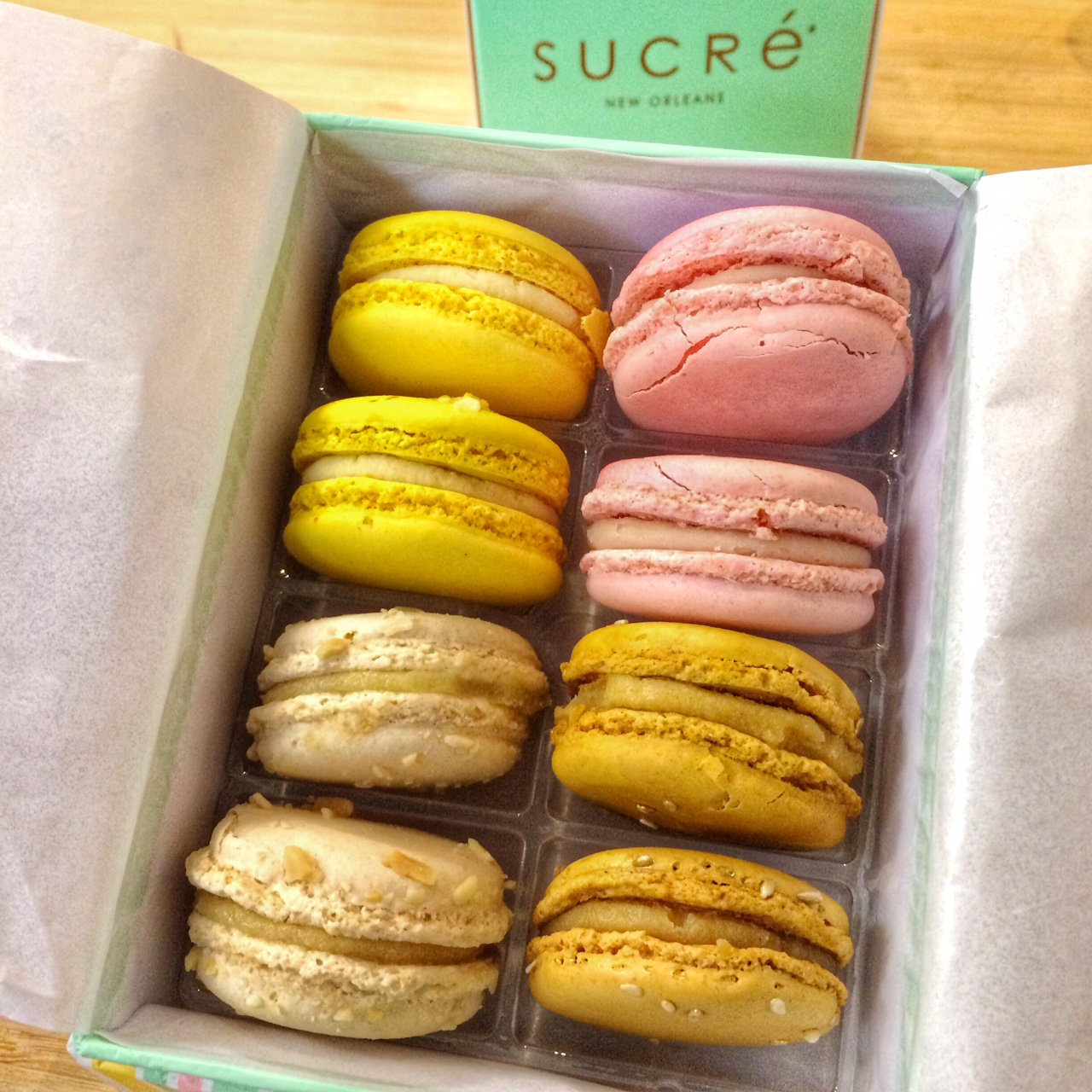 New Orleans Sucre Macarons Box