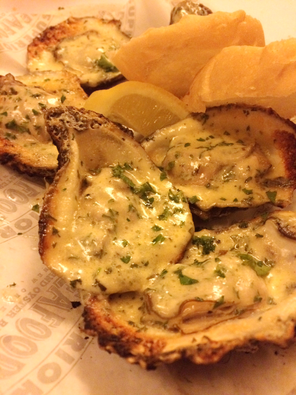 New Orleans Super Seafood Char Grilled Oysters