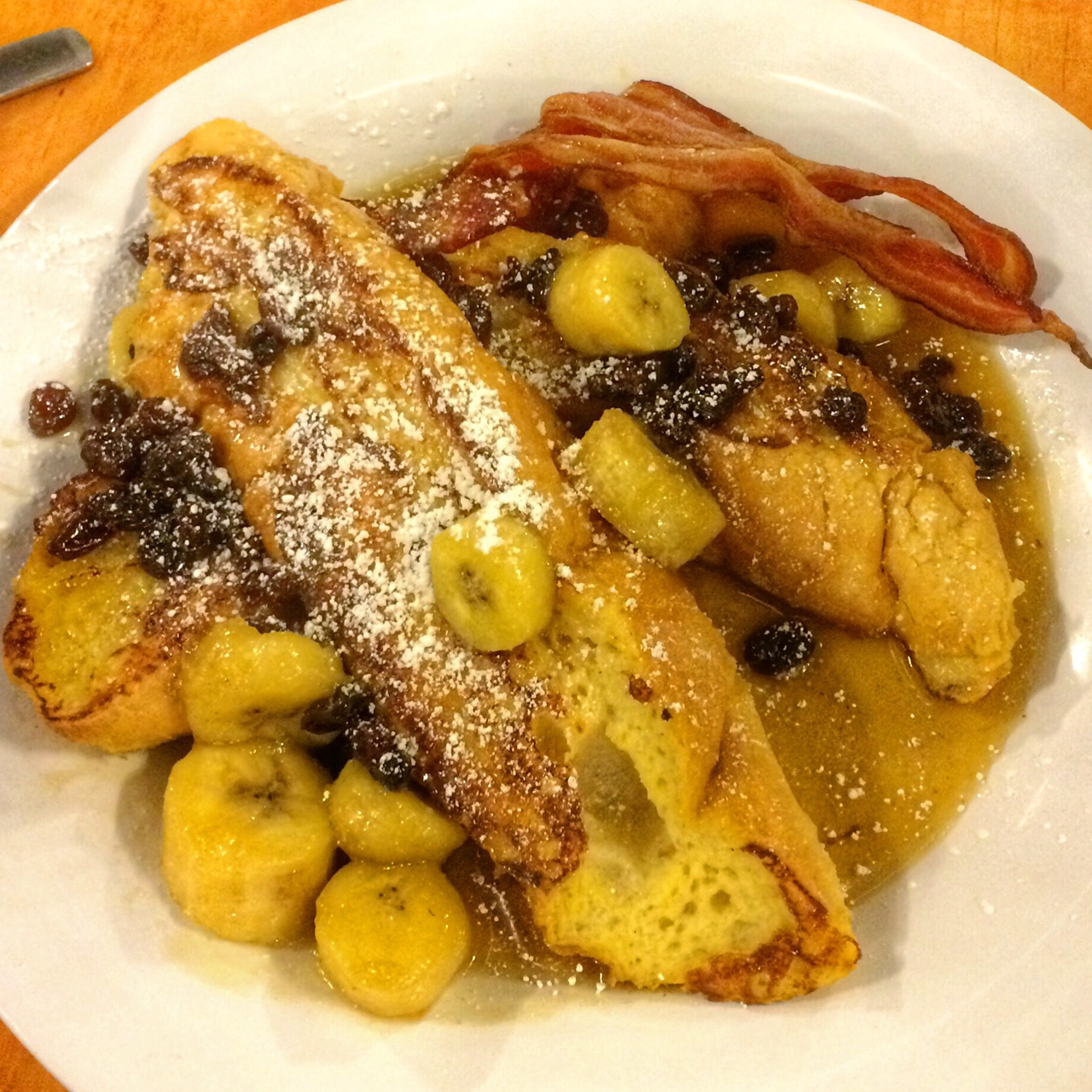 New Orleans The Ruby Slipper Bananas Foster Pain Perdu