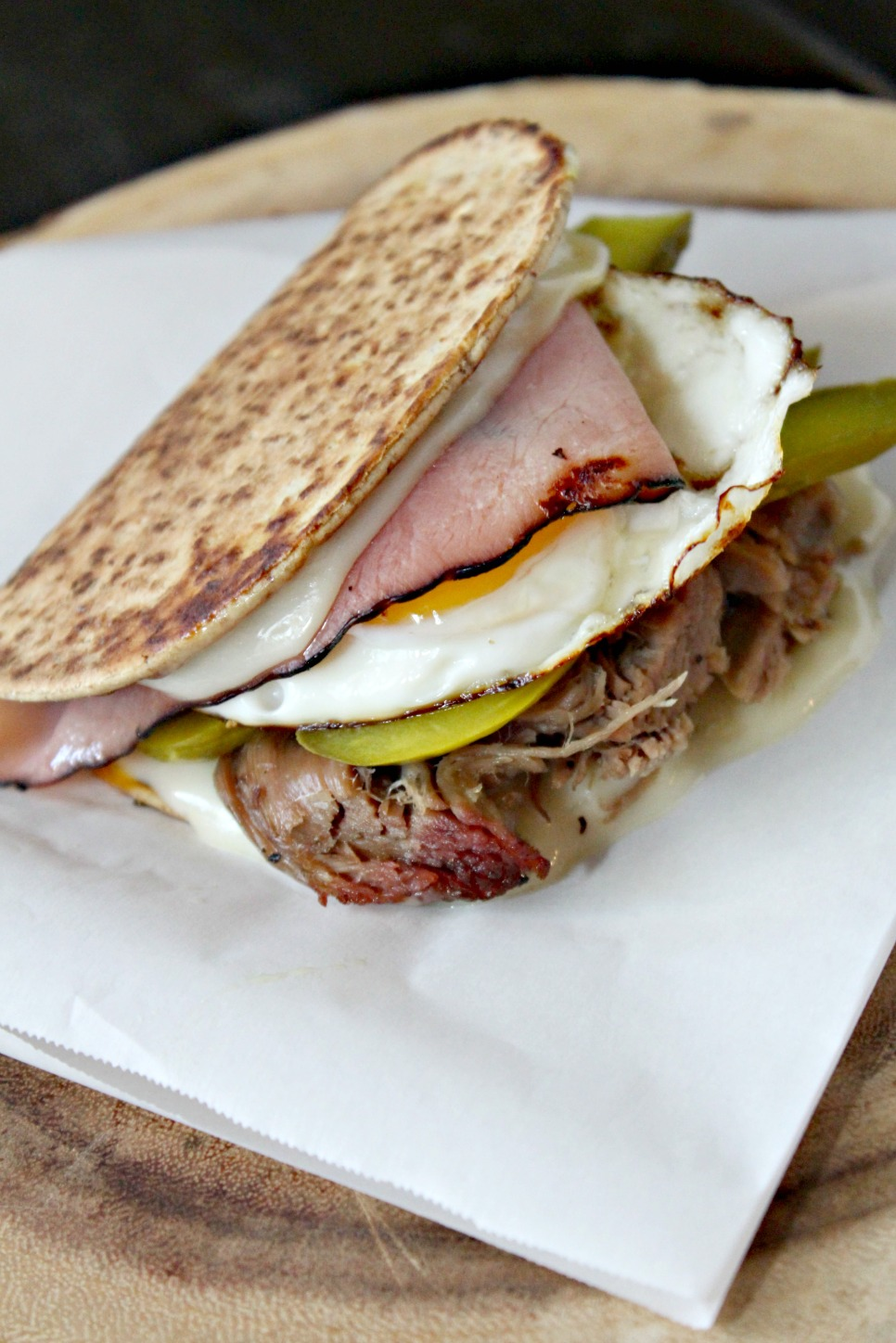 Elevated Cuban Sandwich
