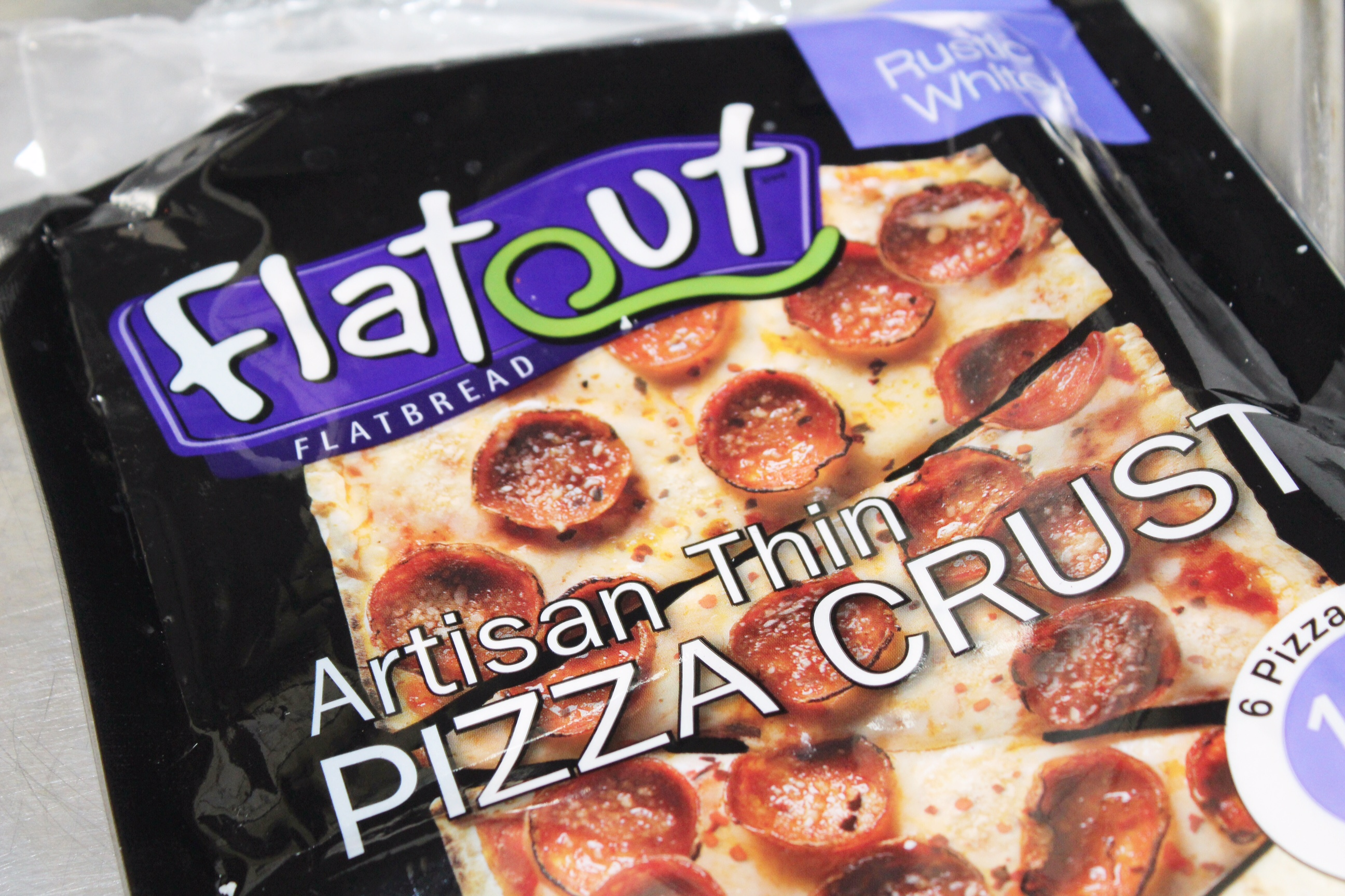 Spanish Tapas Flatout Pizza 3