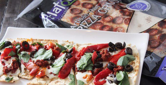 Spanish Tapas Flatout Pizza