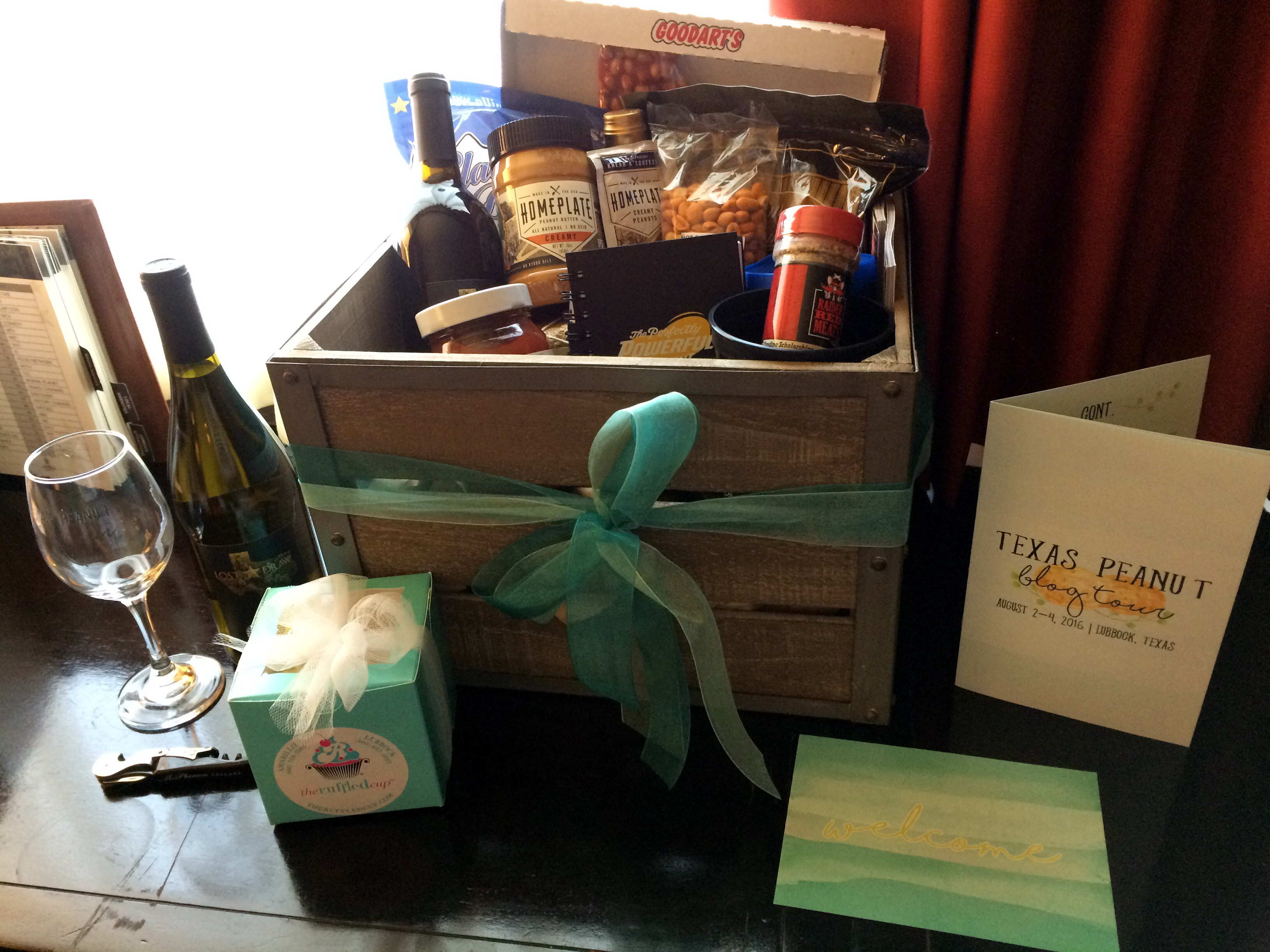 Texas Peanut Tour Welcome Box