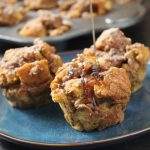 Oven Baked Pumpkin French Toast Muffins