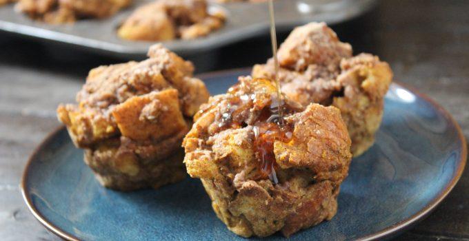 Pumpkin French Toast Muffins