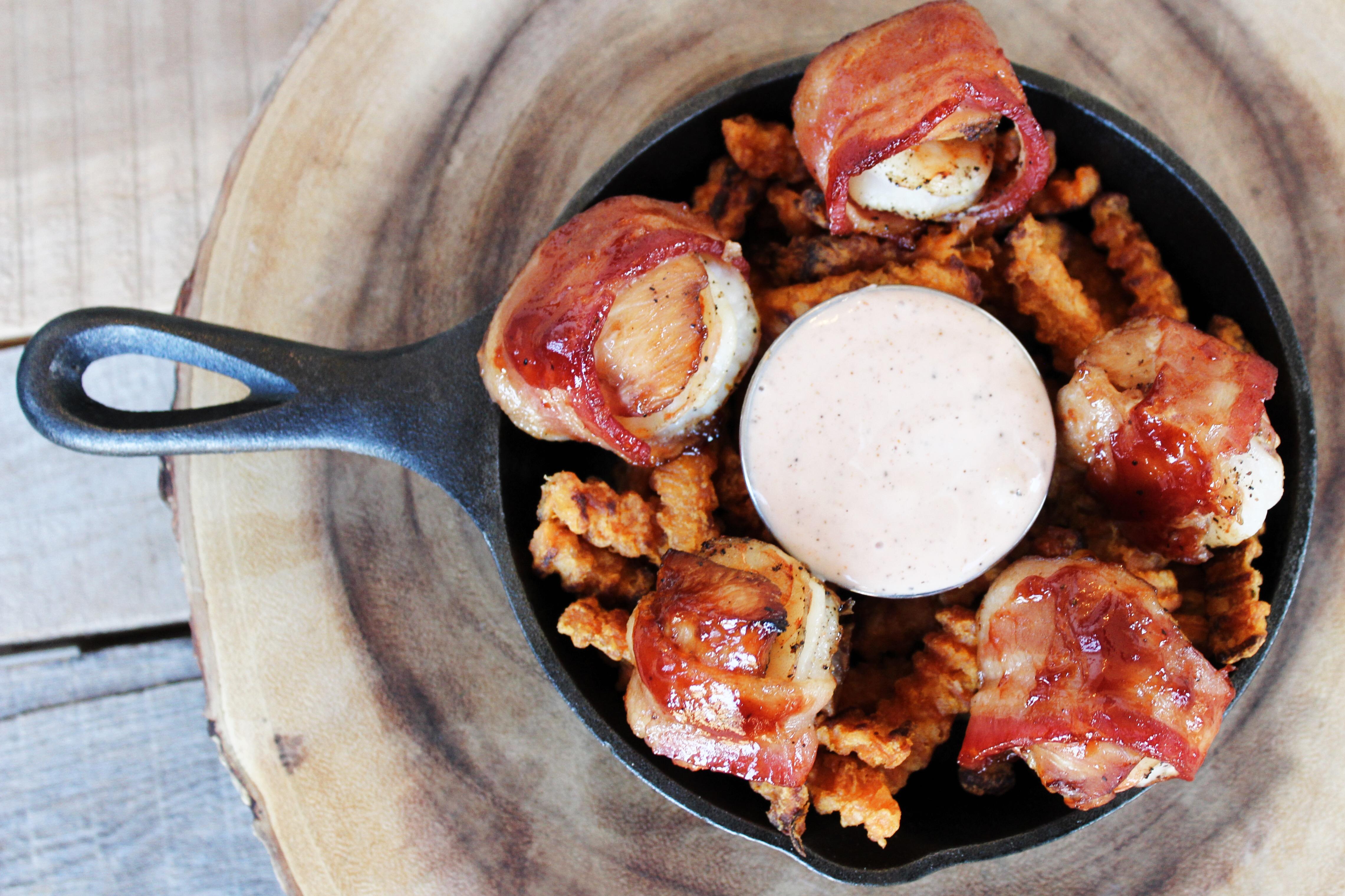 Shrimp and Chicken Enbrochette
