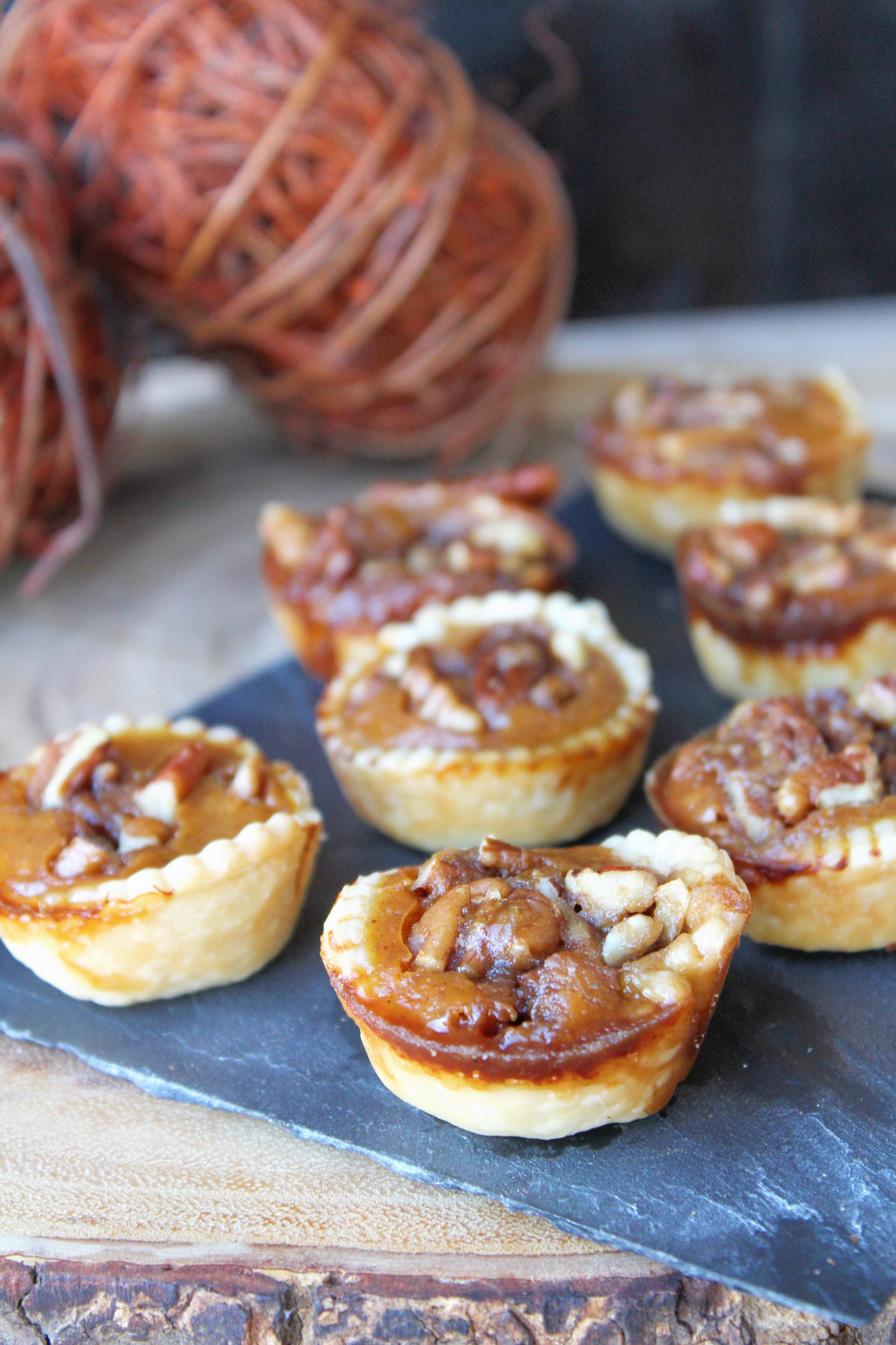 Pumpkin Pecan Pie Bites