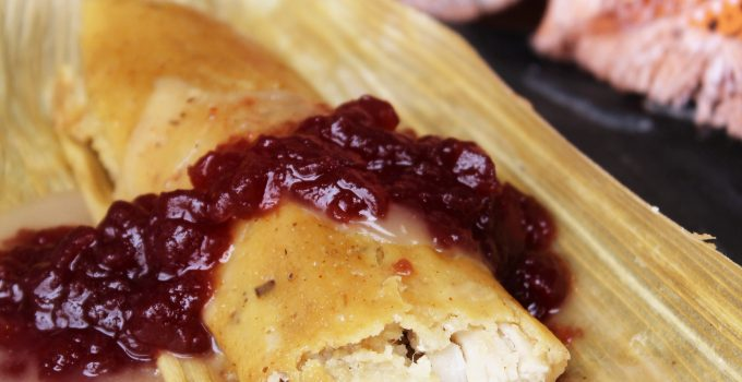 Thanksgiving Leftovers: Turkey and Dressing Tamales