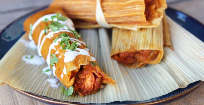 Chipotle Chicken Tamales