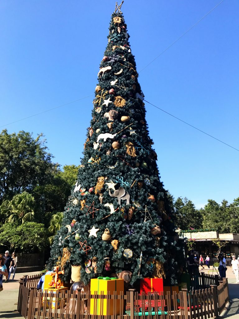 Disney World Tips Animal Kingdom Christmas Tree