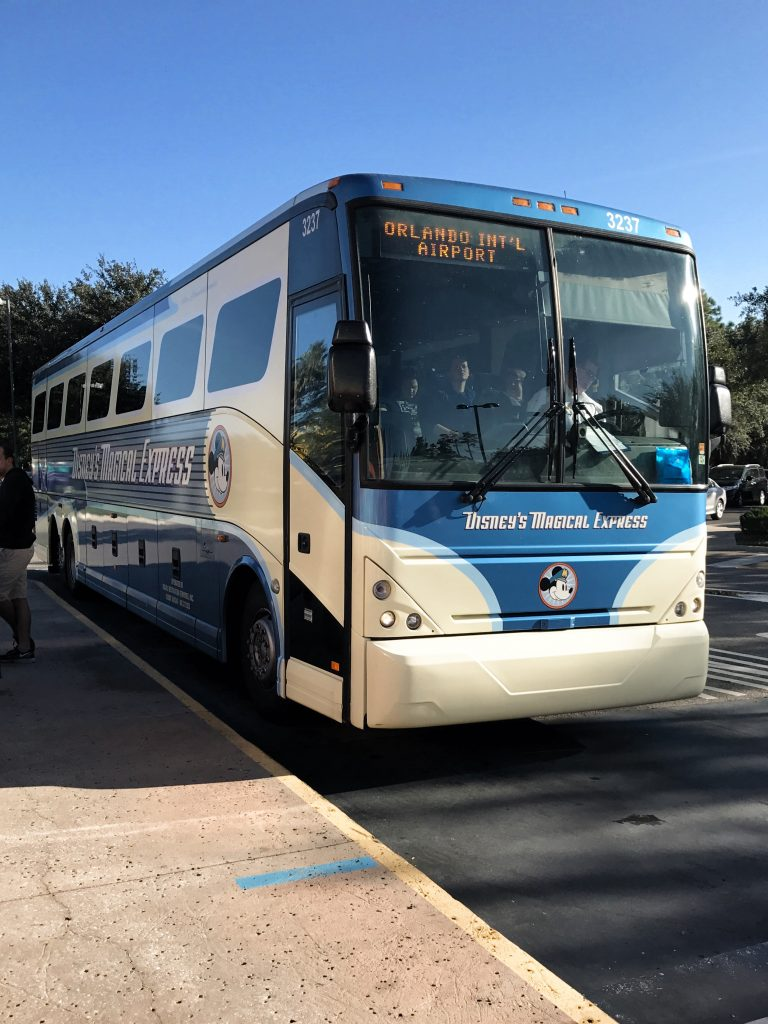 Disney World Tips Magical Express Bus