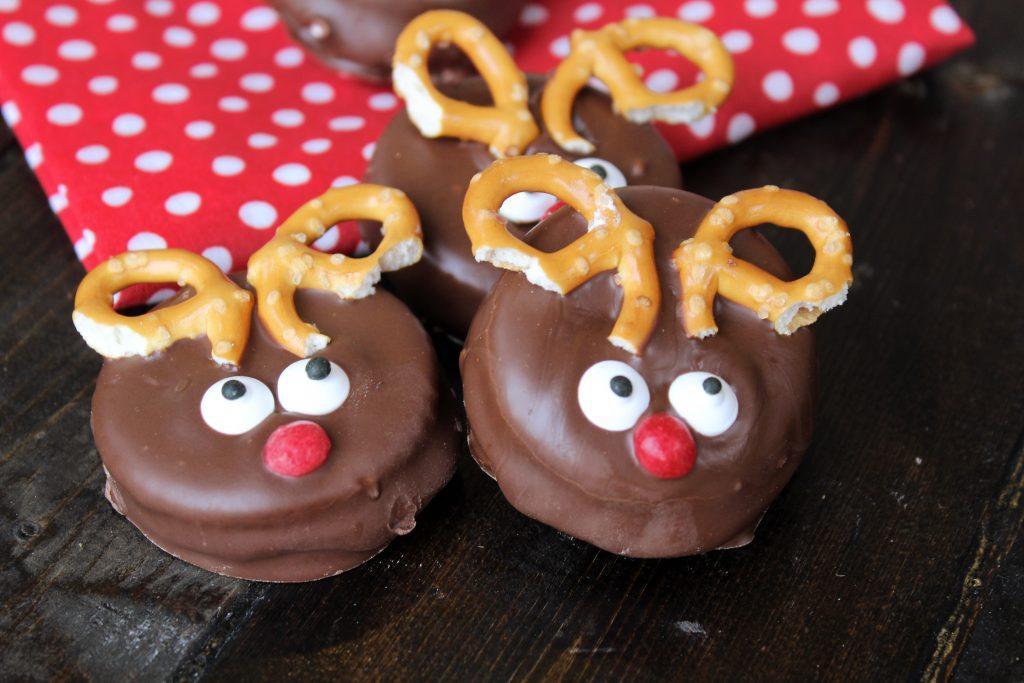 Reindeer Cookies aka Moon Pies