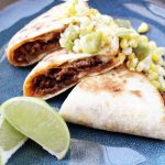 Mexican Beef Quesadillas and Corn Salsa