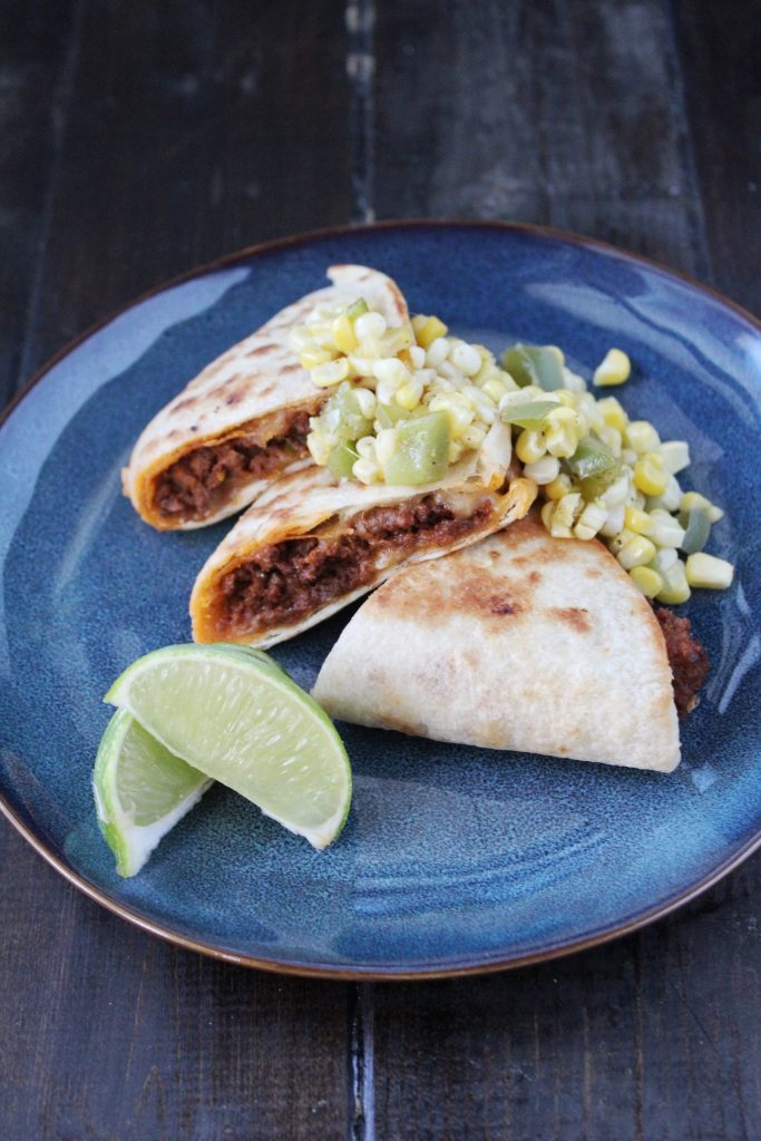 Mexican Beef Quesadillas