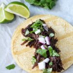 Easy Slow Cooker Barbacoa
