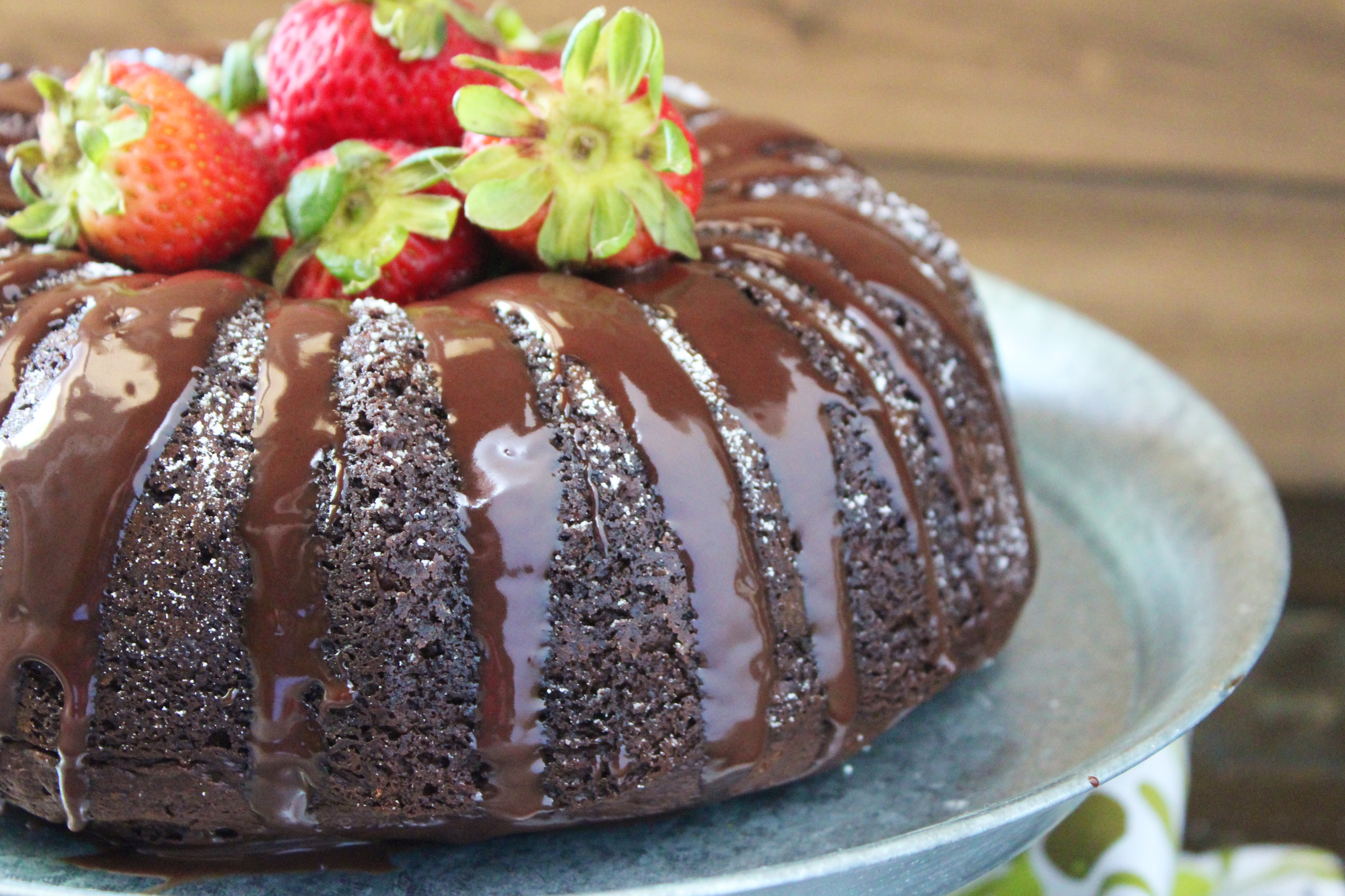 Chip & Joanna Gaines' Chocolate Chip Bundt Cake - addicted to recipes