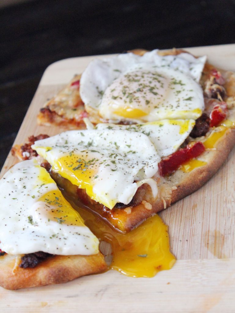Chorizo and Egg Breakfast Flatbread 2