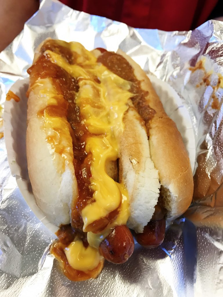 Grays Papaya Hot Dog