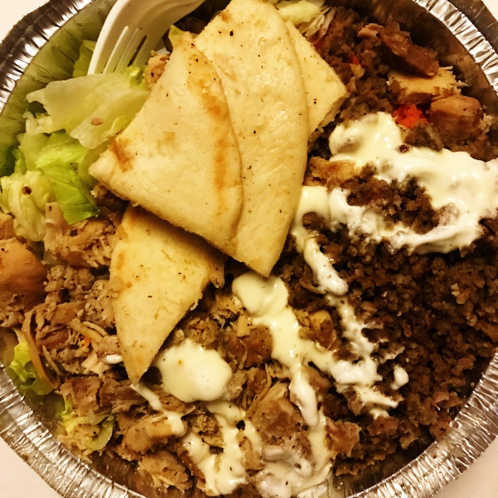 Halal Guys Chicken Gyro Combo