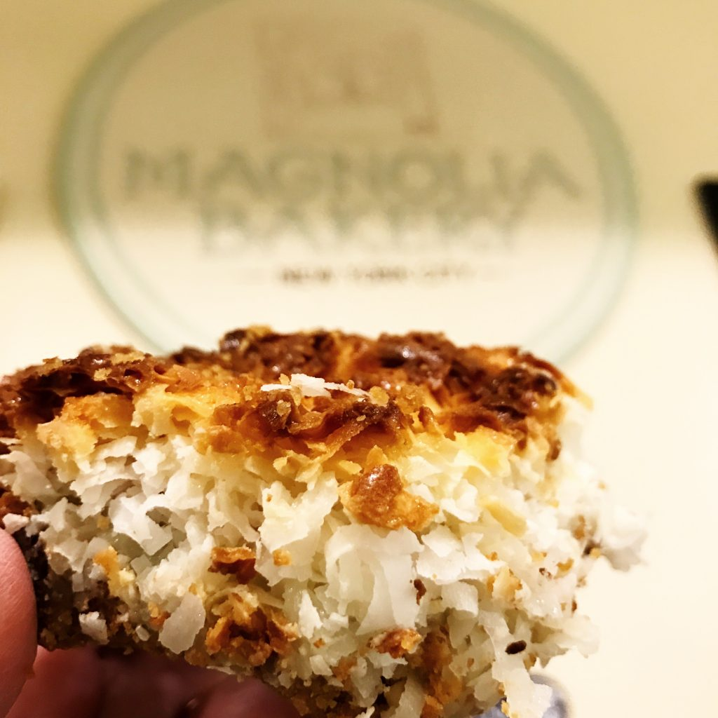 Magnolia Magic Cookie Bar