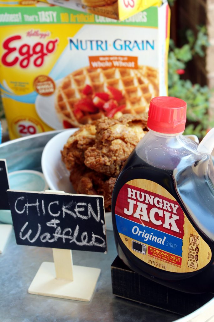 Eggo Waffle Bar Chicken and Waffles Ingredients