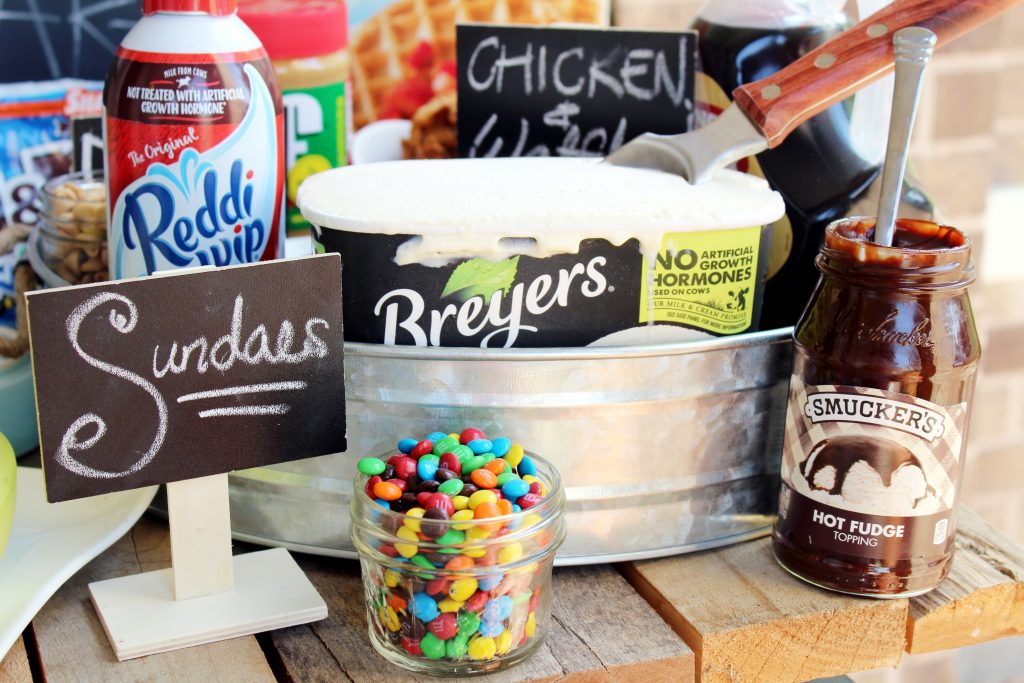 Eggo Waffle Bar Sundaes Ingredients