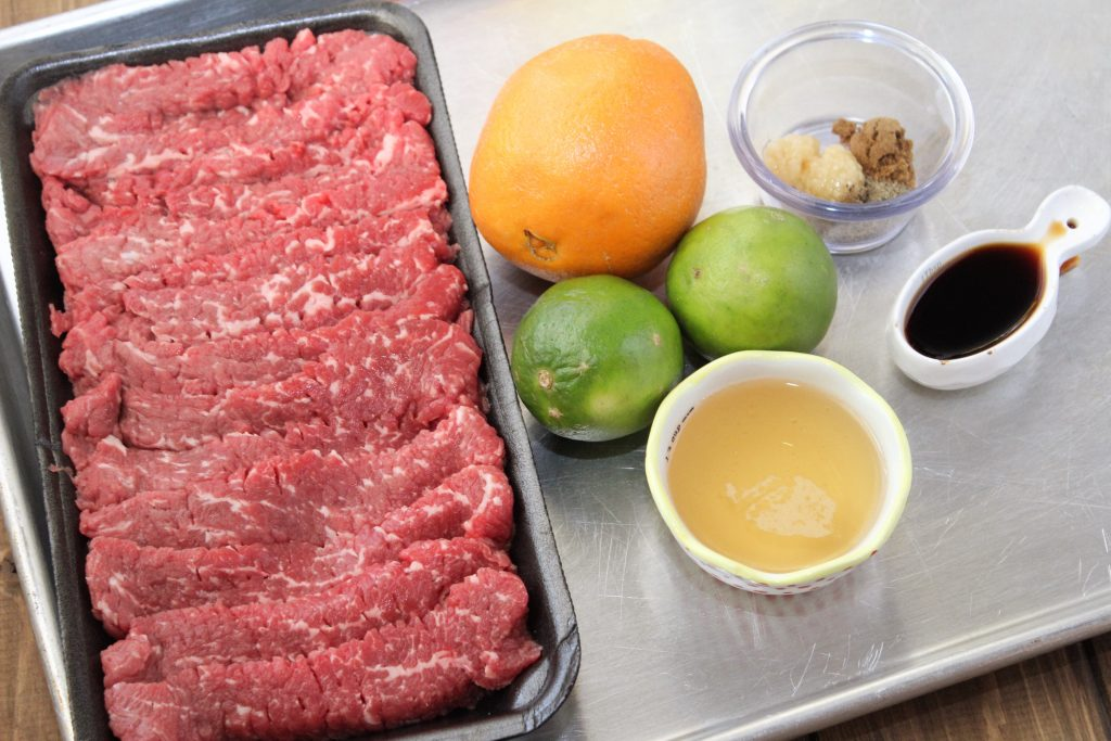 Carne Asada Ingredients