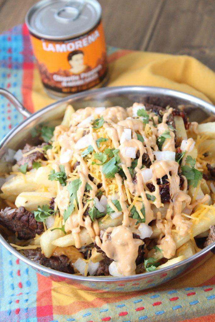 Carne Asada Kimchi Fries