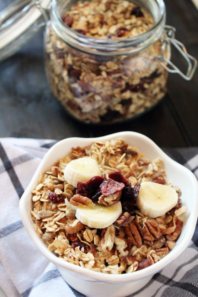Homemade Maple Muesli