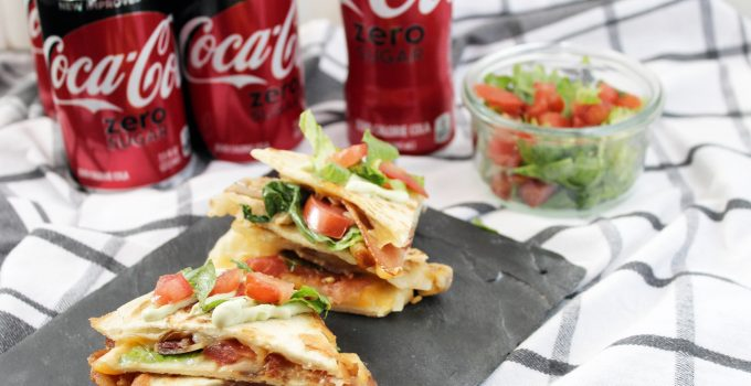Chicken BLT Quesadillas