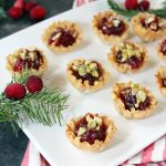 Maple Cranberry Brie Bites