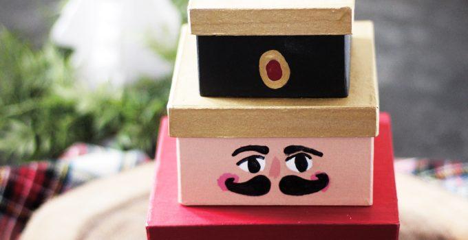 Painted Nutcracker Boxes