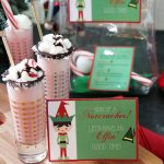 Peppermint Milkshake and Elf Party