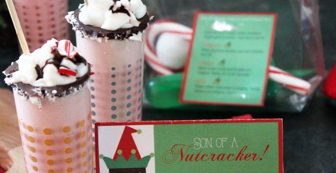 Peppermint Milkshake and Elf Party
