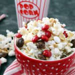 Peppermint White Chocolate Popcorn Mix