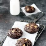 Copycat Levain Bakery Dark Chocolate  Peanut Butter Cookies