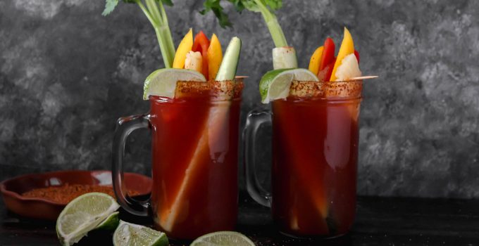 Michelada Mexican Cups