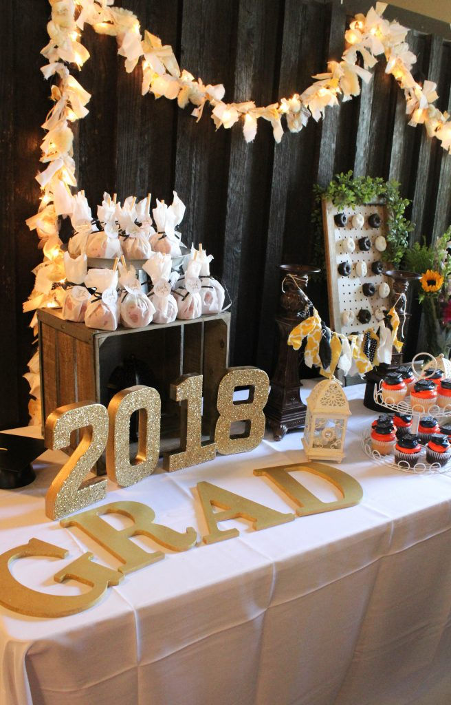 Graduation Party Ideas - Dessert Bar