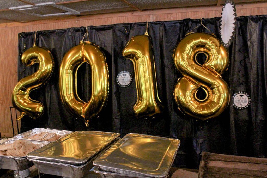 Graduation Party Ideas - Taco Bar