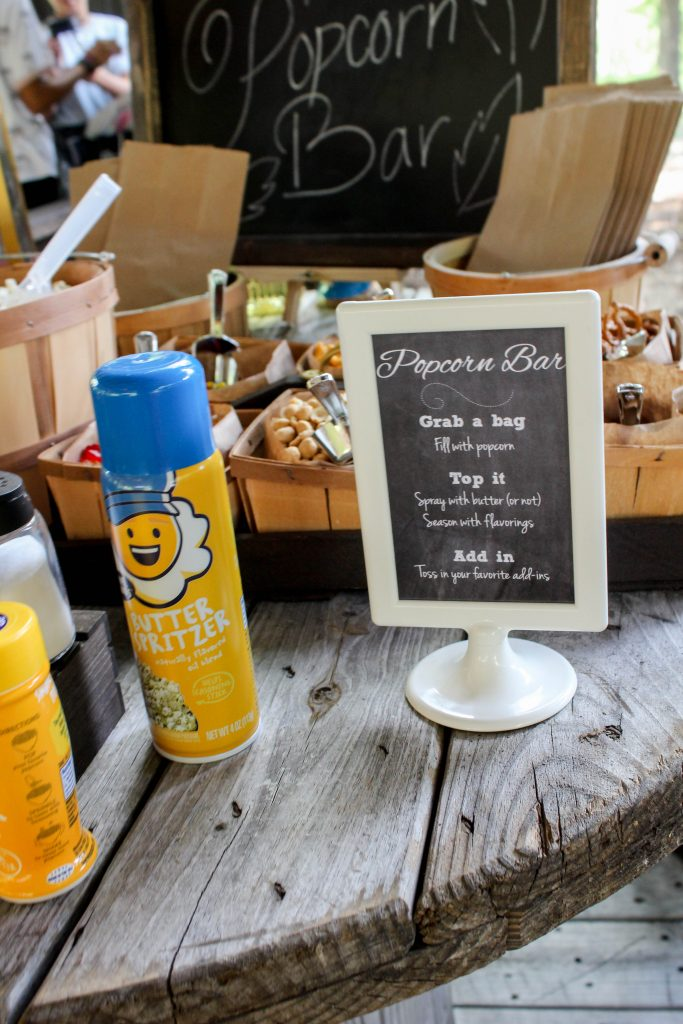 Graduation Party Ideas Popcorn Bar (2)