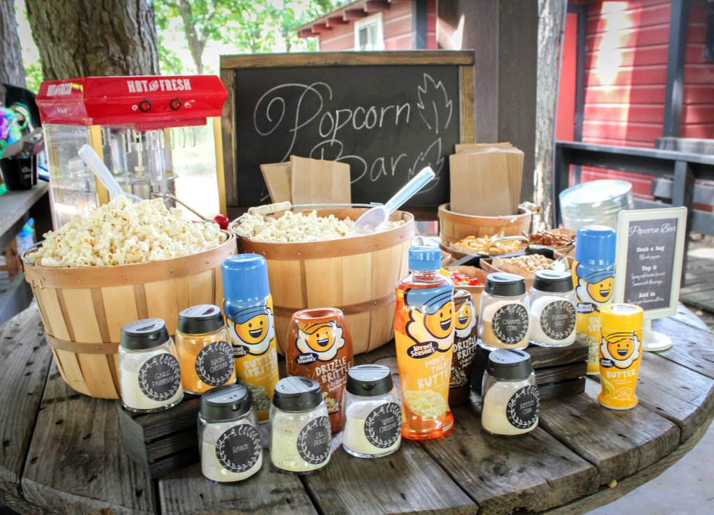 Graduation Party Ideas Popcorn Bar