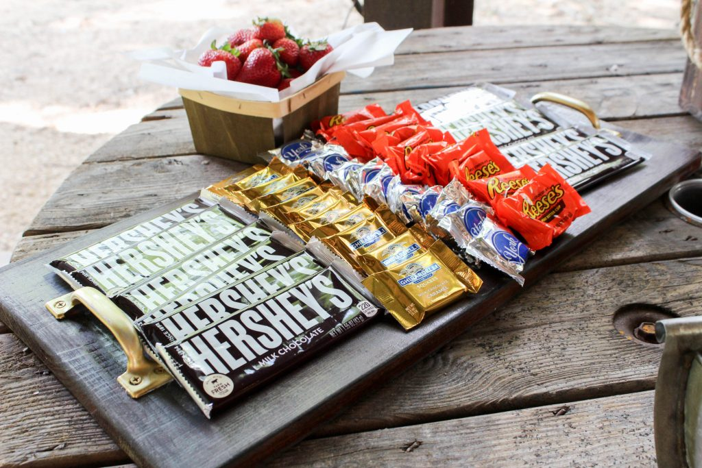 Graduation Party Ideas Smores Bar