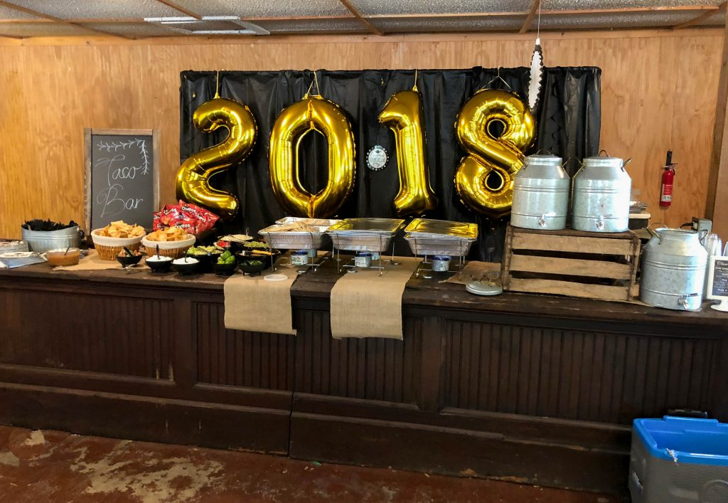 Graduation Party Ideas Taco Bar