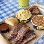 Dickey's All You Can Eat Ribs #RibsAndABigYellowCup