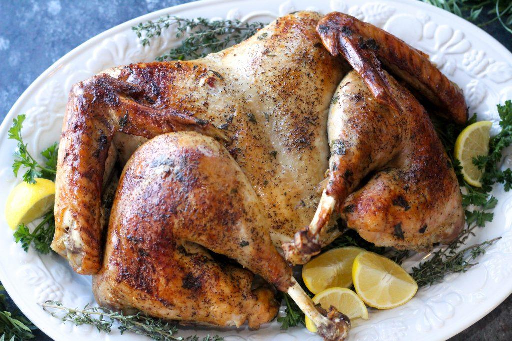 Spatchcock Heroine Turkey
