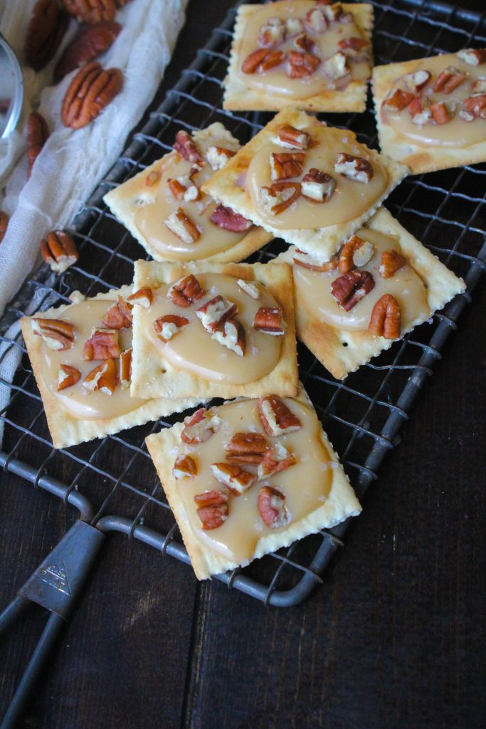 Salted Jamoncillo Pecan Toffee