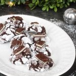 Andes Mint Chocolate Crinkle Cookies