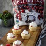 Cranberry Curd Sugar Cookie Cups